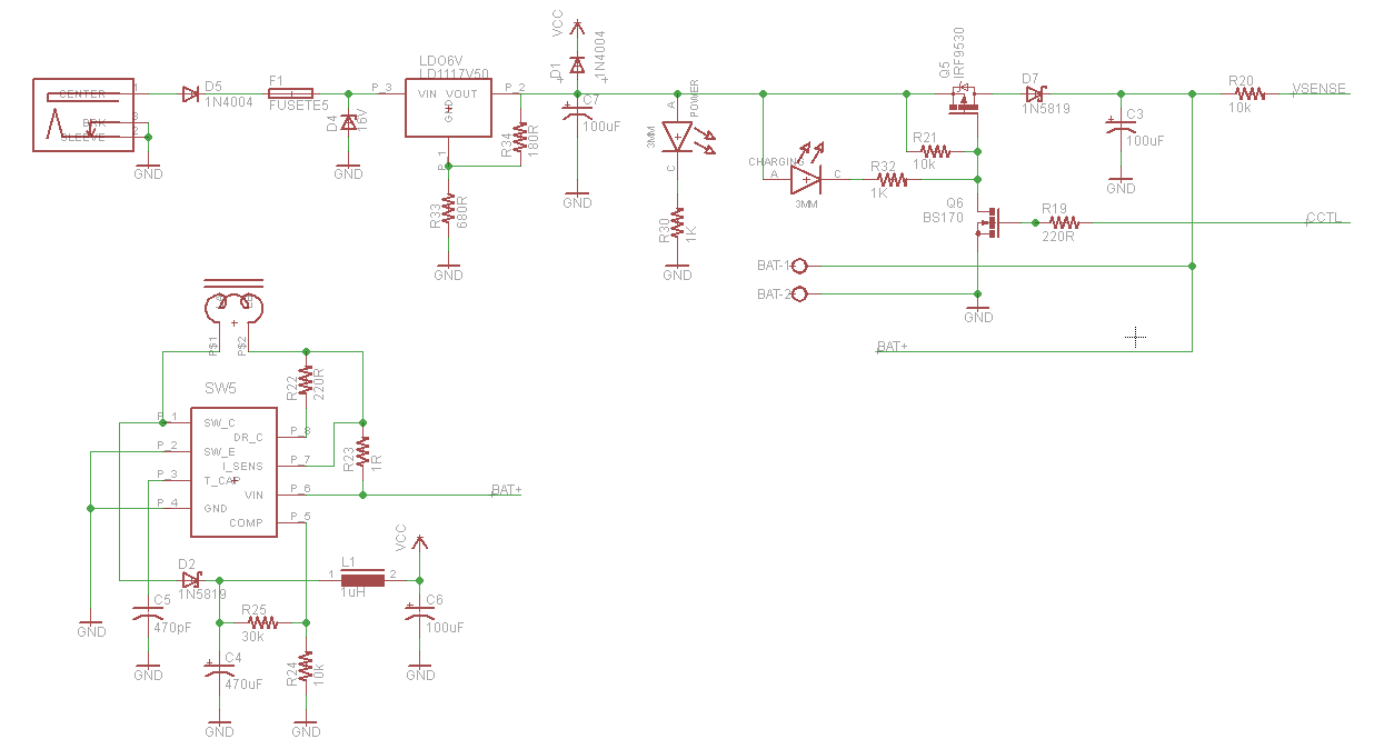 power supply how to lay out a schematic for review
